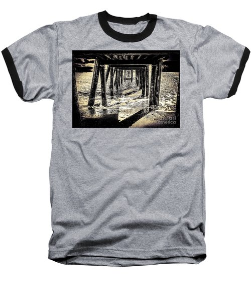 Beneath Baseball T-Shirt by William Wyckoff