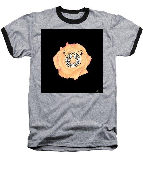 Bengal Blossom Baseball T-Shirt