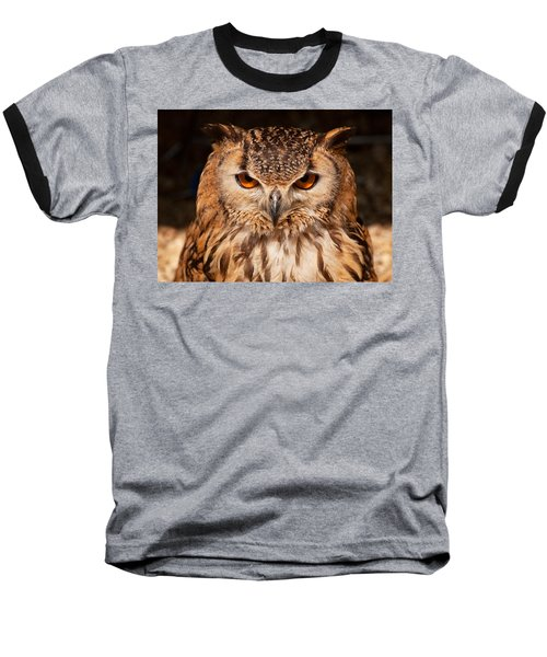 Bengal Owl Baseball T-Shirt