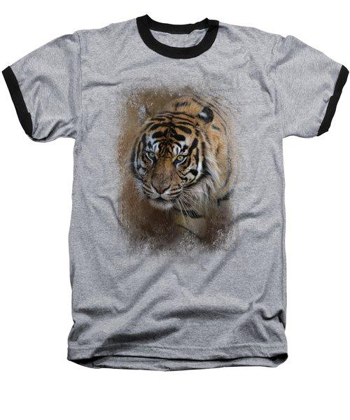Bengal Stare Baseball T-Shirt