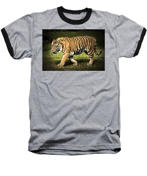 Baseball T-Shirt featuring the photograph Bengal Tiger by Penny Lisowski