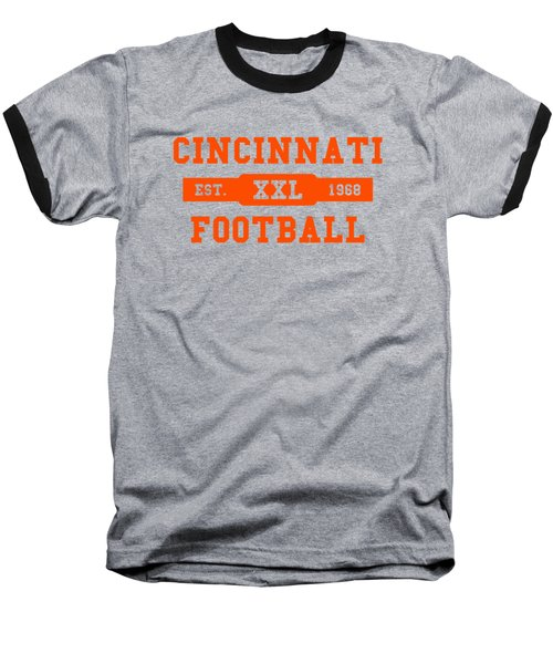 Bengals Retro Shirt Baseball T-Shirt by Joe Hamilton