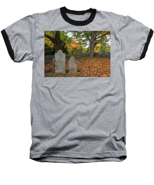 Benjamin Butler Grave Baseball T-Shirt