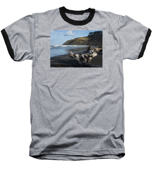 Benson Beach And North Head Baseball T-Shirt