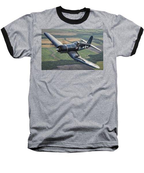 Bent Wing Bird Baseball T-Shirt