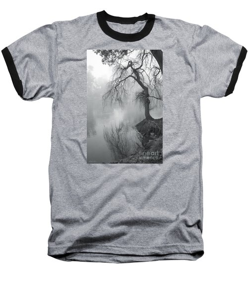 Baseball T-Shirt featuring the photograph Bent With Gentleness And Time by Linda Lees