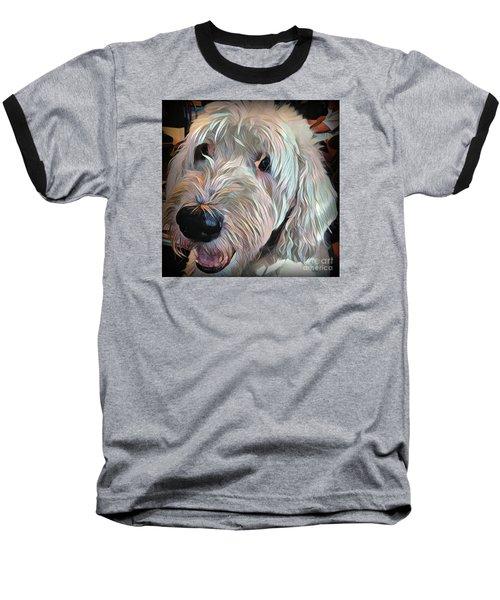 Bentley Baseball T-Shirt by Jodie Marie Anne Richardson Traugott          aka jm-ART