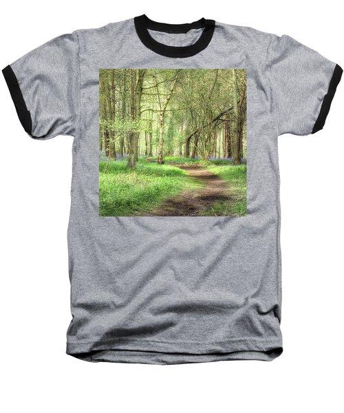 Bentley Woods, Warwickshire #landscape Baseball T-Shirt