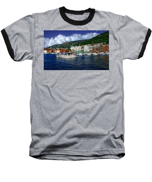 Bergen - Norway Baseball T-Shirt