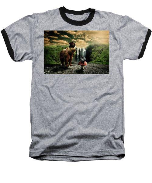 Berlin Bear Baseball T-Shirt by Nathan Wright