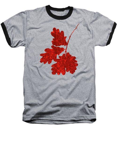 Berlin Classic Map Baseball T-Shirt