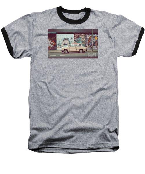 Berlin East Side Gallery Baseball T-Shirt by JR Photography