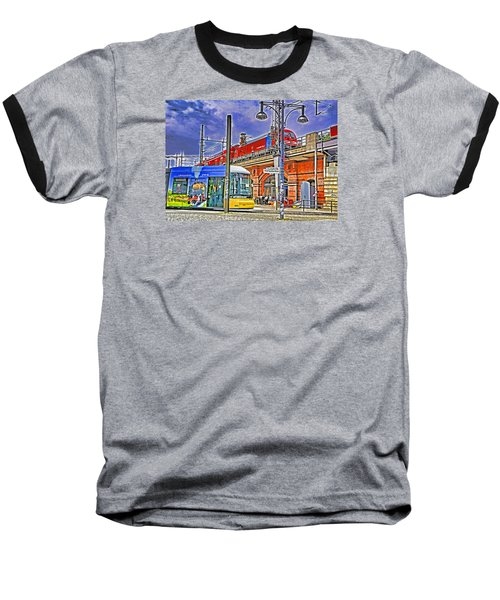 Baseball T-Shirt featuring the photograph Berlin Transit Hub by Dennis Cox WorldViews