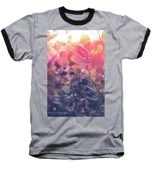 Berries In The Sun Baseball T-Shirt by Stefanie Silva