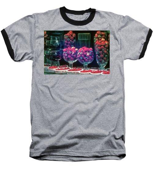 Berries In The Window Baseball T-Shirt