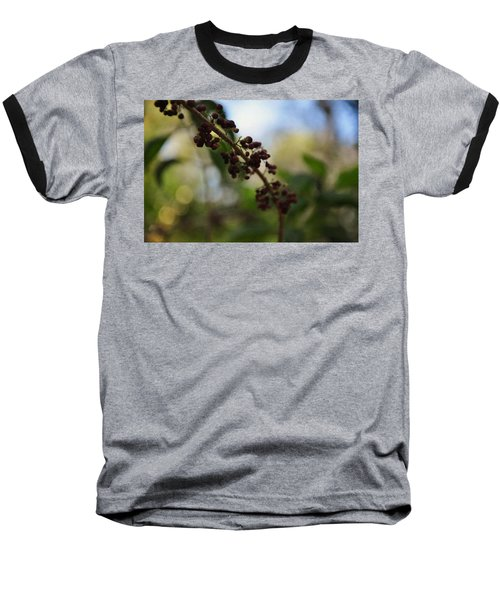 Baseball T-Shirt featuring the photograph Berry Branch by Artists With Autism Inc