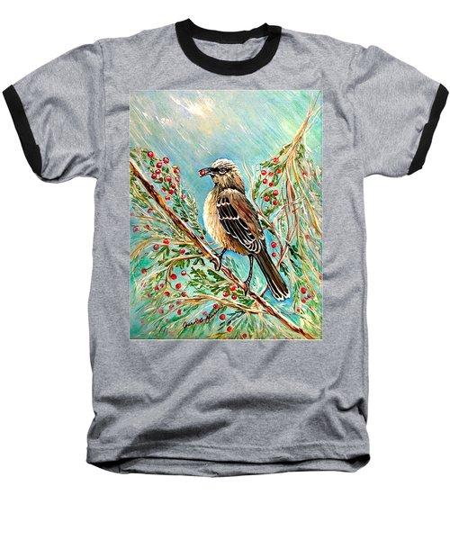 Berry Picking Time Baseball T-Shirt