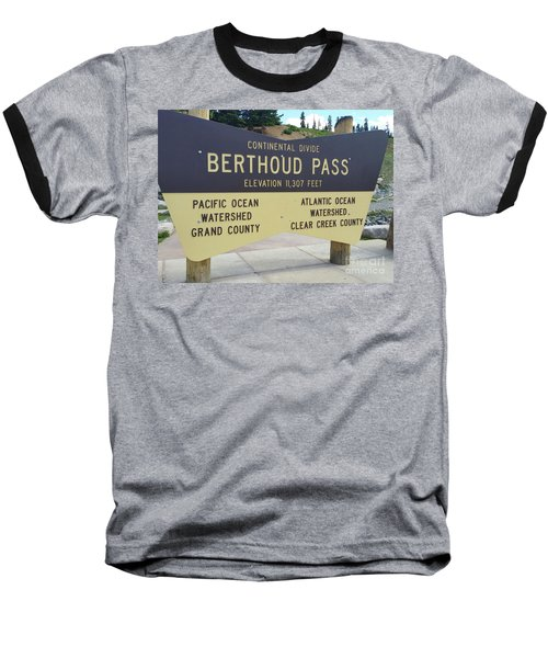 Berthoud Pass Baseball T-Shirt