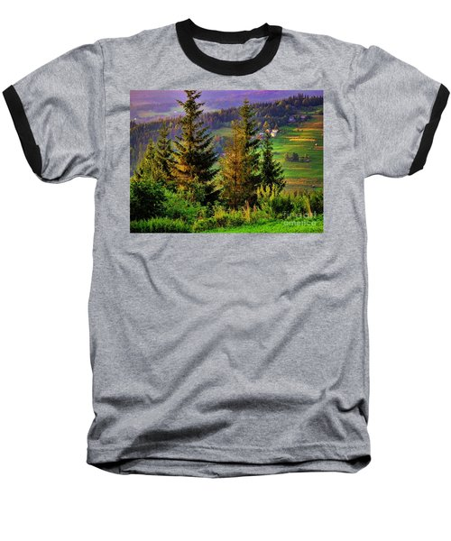 Baseball T-Shirt featuring the photograph Beskidy Mountains by Mariola Bitner