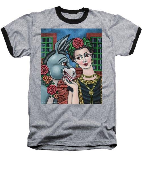 Beso Or Fridas Kisses Baseball T-Shirt