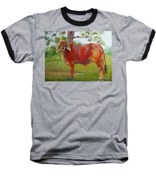 Bessie The Brahama Baseball T-Shirt