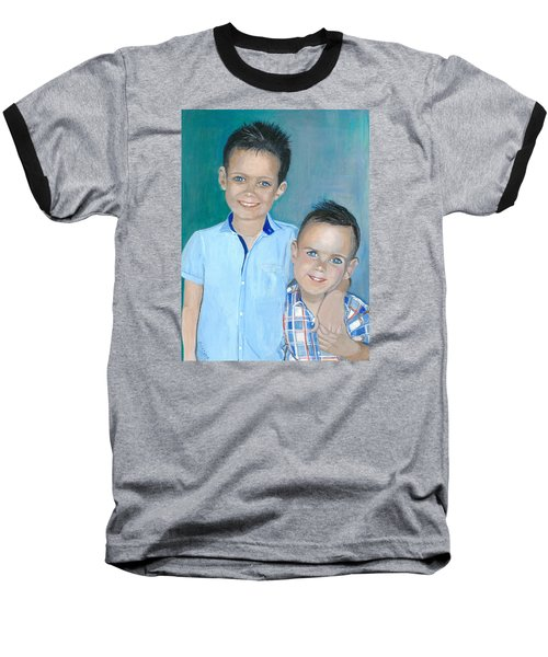 Best Brothers - Painting Baseball T-Shirt