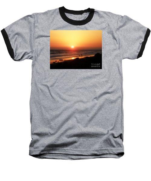 Best Friends At The Beach Baseball T-Shirt