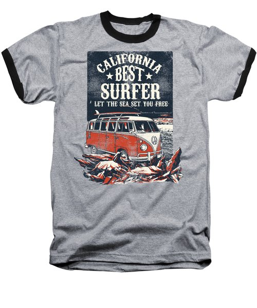 Best Surfer Baseball T-Shirt