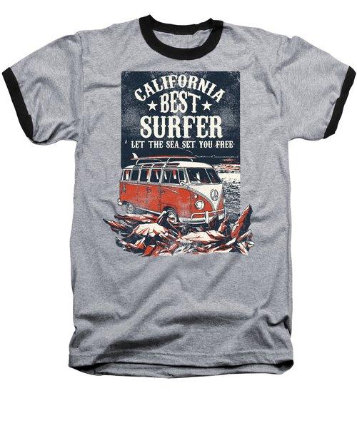 Best Surfer Baseball T-Shirt