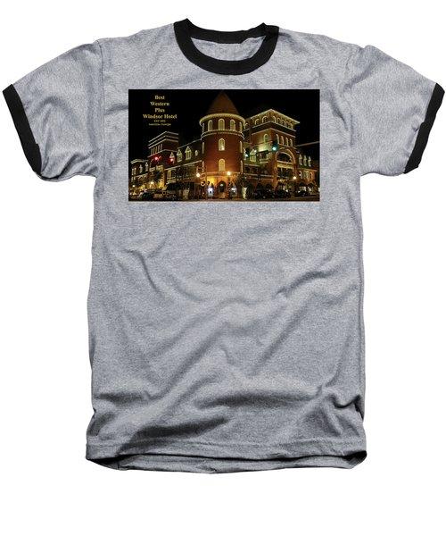 Best Western Plus Windsor Hotel - Christmas Baseball T-Shirt