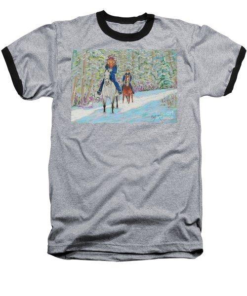 Beth And Nancy  Baseball T-Shirt by Rae  Smith  PAC