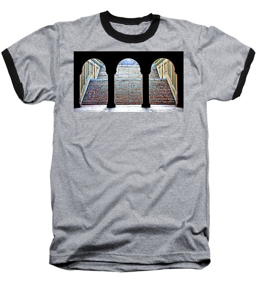 Bethesda Terrace Arcade Baseball T-Shirt