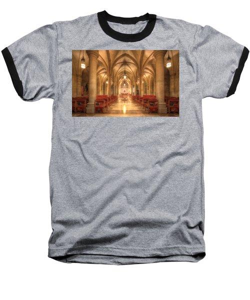 Bethlehem Chapel Washington National Cathedral Baseball T-Shirt