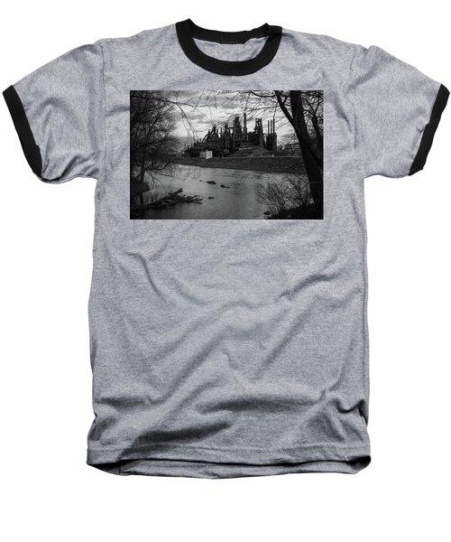 Bethlehem Steel Bw Baseball T-Shirt