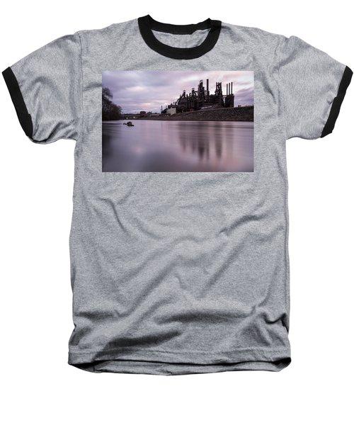 Bethlehem Steel Sunset Baseball T-Shirt