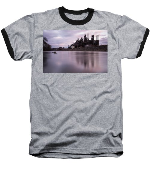 Bethlehem Steel Sunset Baseball T-Shirt