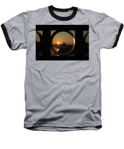 Bethlehem Sunrise Framed Baseball T-Shirt