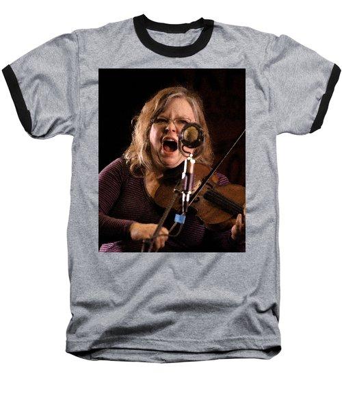 Baseball T-Shirt featuring the photograph Betse Ellis by Jim Mathis