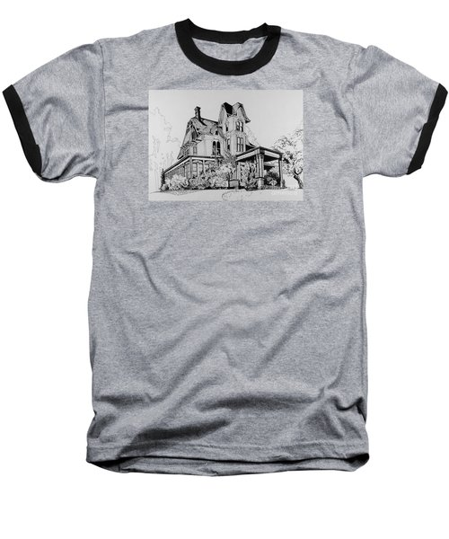 Betsy Ross' Home In Dover, N.j. Baseball T-Shirt by Alan Johnson