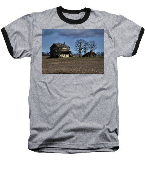 Baseball T-Shirt featuring the photograph Better Days by Robert Geary
