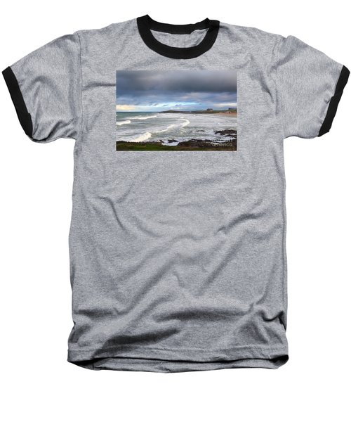 Baseball T-Shirt featuring the photograph Between Cornish Storms 1 by Nicholas Burningham