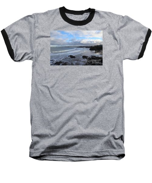 Baseball T-Shirt featuring the photograph Between Cornish Storms 2 by Nicholas Burningham