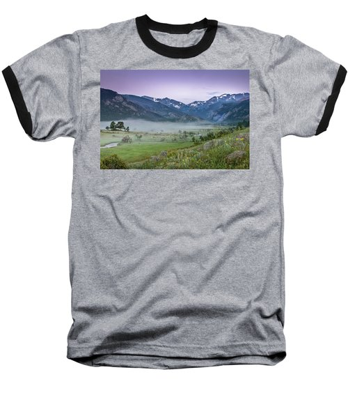 Baseball T-Shirt featuring the photograph Between Night And Day by James Woody