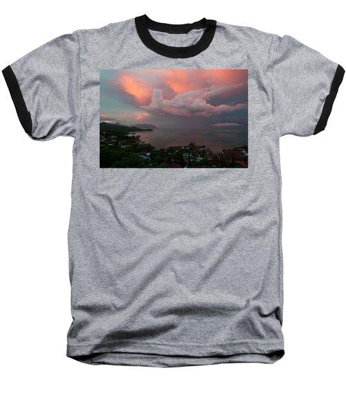 Between Rainstorms Baseball T-Shirt