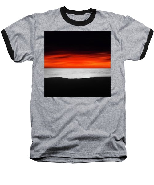 Between Red And Black Baseball T-Shirt