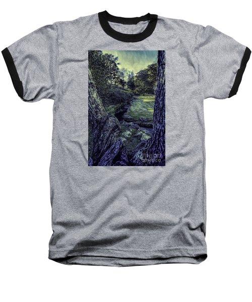 Baseball T-Shirt featuring the photograph Between The Branches by Ken Frischkorn