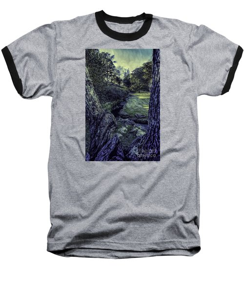 Between The Branches Baseball T-Shirt