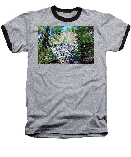 Between The Trees Devils Postpile Baseball T-Shirt