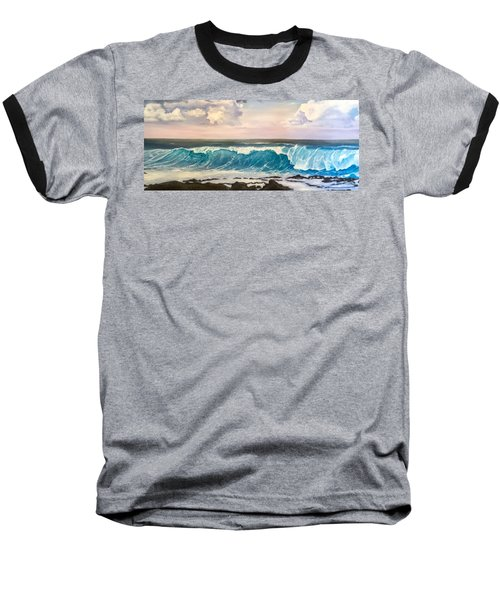 Between The Turtle And The Shark Baseball T-Shirt