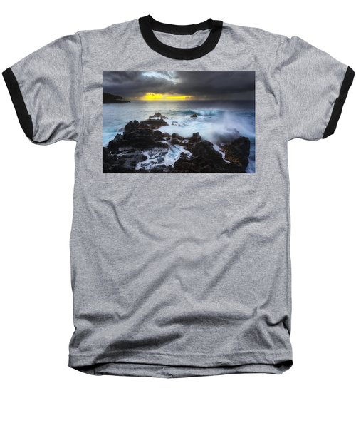 Baseball T-Shirt featuring the photograph Between Two Storms by Ryan Manuel